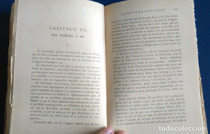 Libros antiguos: ¿Qué ha pasado aquí? Francisco Villanueva. 1930, 2ª edición. - Foto 4 - 105676079