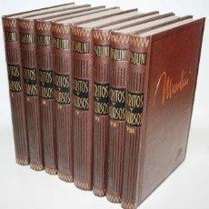 Libros antiguos: ESCRITOS Y DISCURSOS. 8 TOMOS - MUSSOLINI, BENITO. Lote 105496907