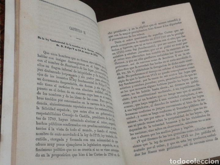 Libros antiguos: CARLISMO: LA CUESTIÓN DINÁSTICA, FRAY MAGIN FERRER - LIBRO RARO, NO PUBLICADO HASTA 1869 - Foto 4 - 106093988