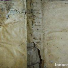 Libros antiguos: SAAVEDRA FAJARDO, DIEGO DE. IDEA DE UN PRÍNCIPE POLÍTICO Y CHRISTIANO, REPRESENTADA EN CIEN... 1695. Lote 106912791
