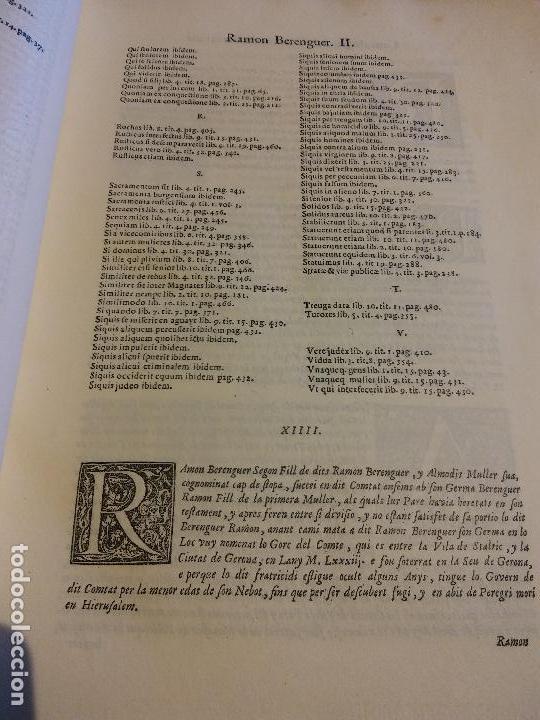 Libros antiguos: HOS. CONSTITUCIONS DE CATALUNYA. VOLUM PRIMER. 1704. JOAN PAU MARTI I JOSEP LLOPIS, BARCELONA. - Foto 2 - 107264859