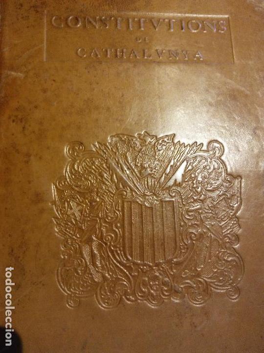 Libros antiguos: HOS. CONSTITUCIONS DE CATALUNYA. VOLUM PRIMER. 1704. JOAN PAU MARTI I JOSEP LLOPIS, BARCELONA. - Foto 5 - 107264859