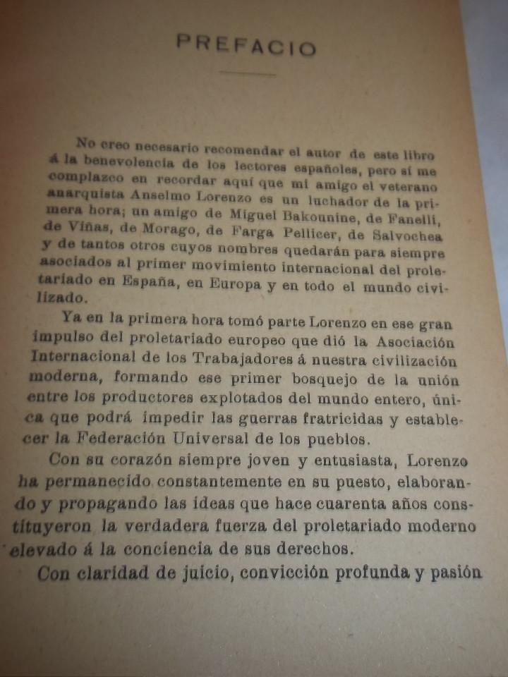 Libros antiguos: ANSELMO LORENZO.EL PUEBLO.ESTUDIO LIBERTARIO.SEMPERE 1909.ANARQUISMO.CNT. - Foto 11 - 80898383