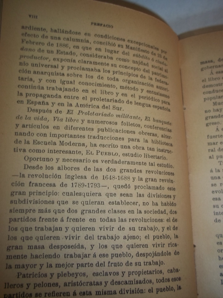 Libros antiguos: ANSELMO LORENZO.EL PUEBLO.ESTUDIO LIBERTARIO.SEMPERE 1909.ANARQUISMO.CNT. - Foto 12 - 80898383