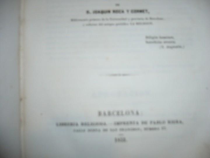 Libros antiguos: DEL PROTESTANTISMO Y DE TODAS LAS HEREJIAS AUGUSTO.NICOLAS 1853 BARCELONA - Foto 4 - 107616455