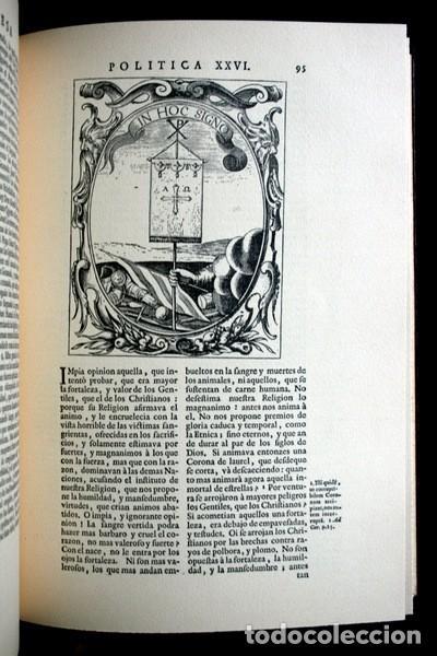 Libros antiguos: EMPRESAS POLITICAS - SAAVEDRA FAJARDO - EDICION LIMITADA Y NUMERADA - TAURUS 1967 - Foto 4 - 110746747