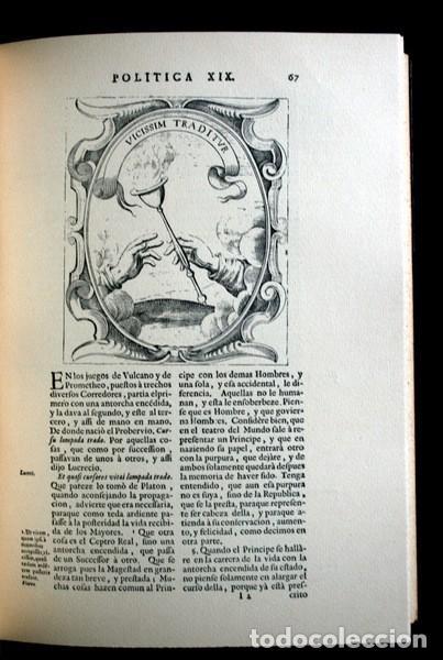 Libros antiguos: EMPRESAS POLITICAS - SAAVEDRA FAJARDO - EDICION LIMITADA Y NUMERADA - TAURUS 1967 - Foto 9 - 110746747