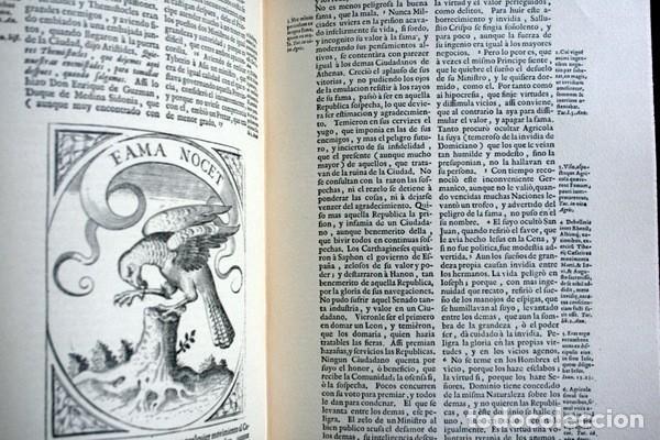 Libros antiguos: EMPRESAS POLITICAS - SAAVEDRA FAJARDO - EDICION LIMITADA Y NUMERADA - TAURUS 1967 - Foto 10 - 110746747