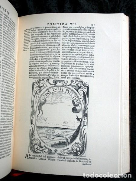 Libros antiguos: EMPRESAS POLITICAS - SAAVEDRA FAJARDO - EDICION LIMITADA Y NUMERADA - TAURUS 1967 - Foto 13 - 110746747