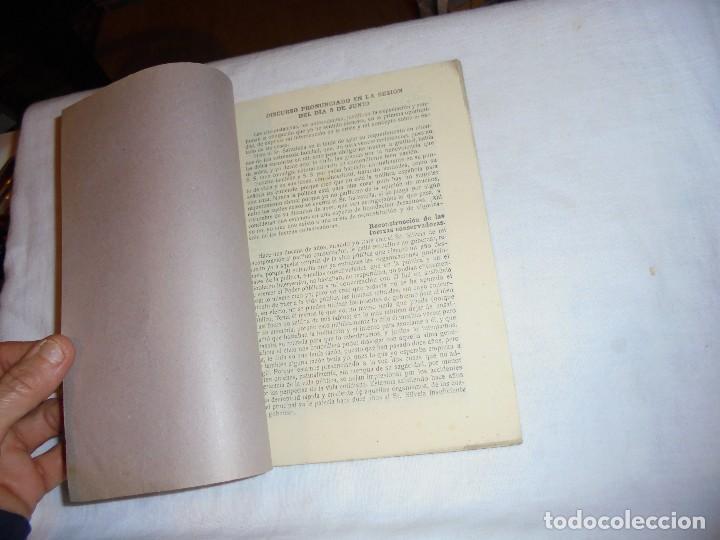 Libros antiguos: IMPORTANTISIMOS Y TRASCENDENTALES DOCUMENTOS PARLAMENTARIOS.DISCURSOS PRONUNCIADOS POR ANTONIO MAURA - Foto 2 - 111296071