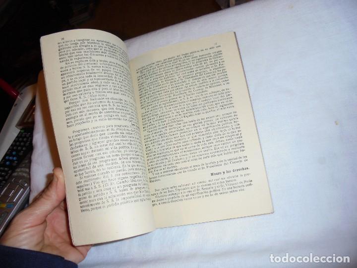 Libros antiguos: IMPORTANTISIMOS Y TRASCENDENTALES DOCUMENTOS PARLAMENTARIOS.DISCURSOS PRONUNCIADOS POR ANTONIO MAURA - Foto 3 - 111296071
