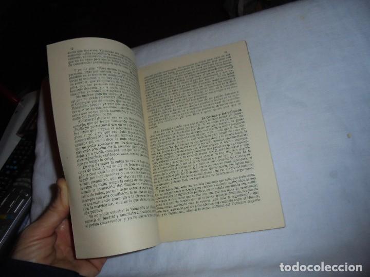 Libros antiguos: IMPORTANTISIMOS Y TRASCENDENTALES DOCUMENTOS PARLAMENTARIOS.DISCURSOS PRONUNCIADOS POR ANTONIO MAURA - Foto 4 - 111296071