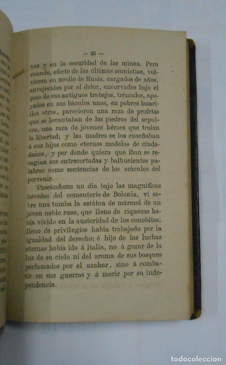 Libros antiguos: Cartas sobre Política Europea. Emilio Castelar. 2 TOMOS. VOLUMEN I Y II. TDK196 - Foto 2 - 112696311