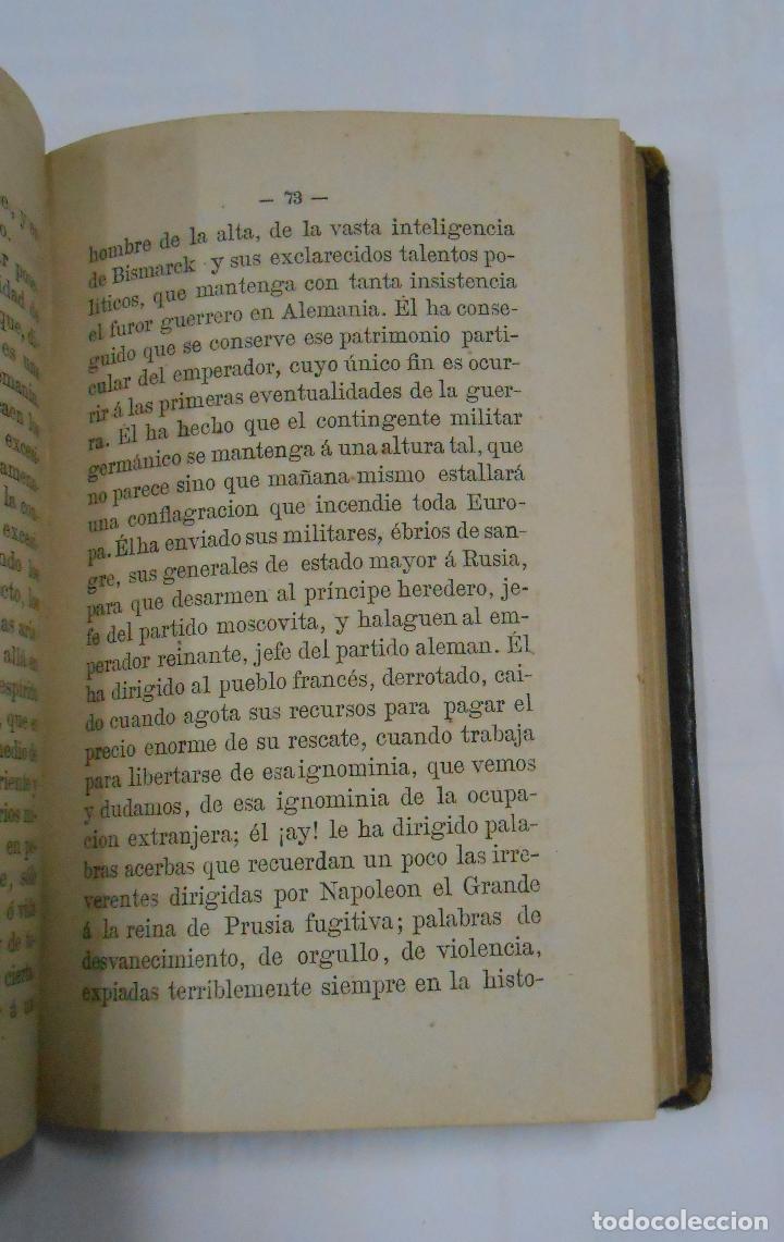 Libros antiguos: Cartas sobre Política Europea. Emilio Castelar. 2 TOMOS. VOLUMEN I Y II. TDK196 - Foto 3 - 112696311