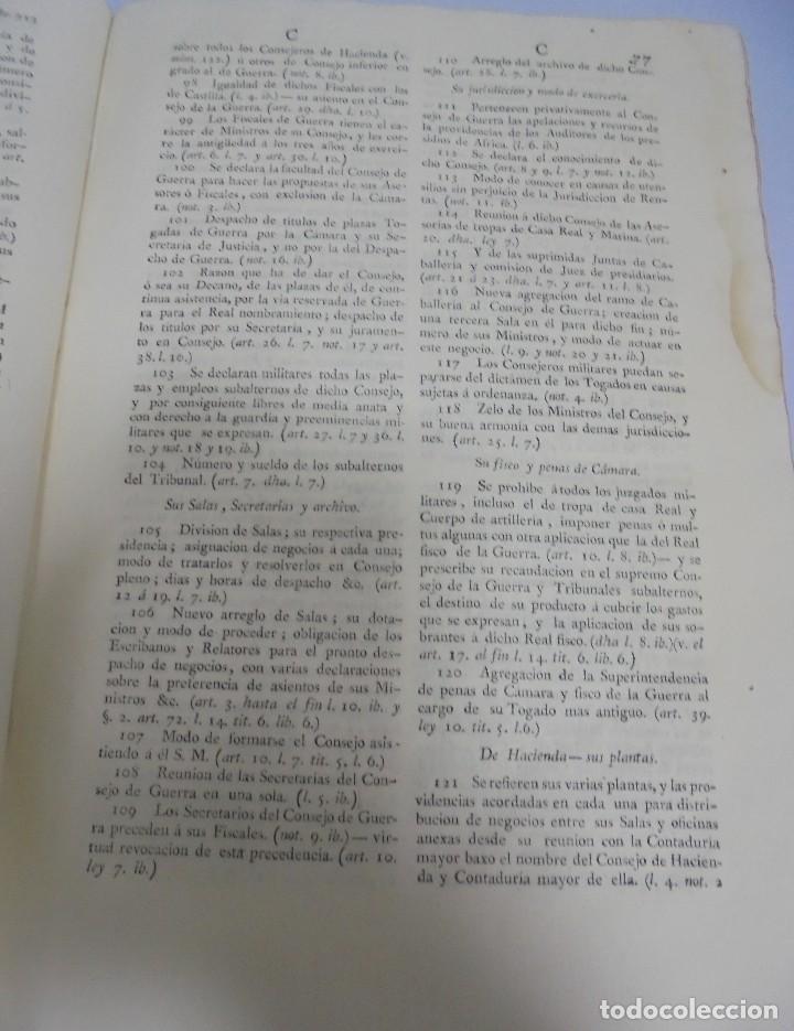 Libros antiguos: NOVISIMA RECOPILACION DE LAS LEYES DE ESPAÑA. TOMO VI. MADRID 1807. LEER - Foto 7 - 113053155