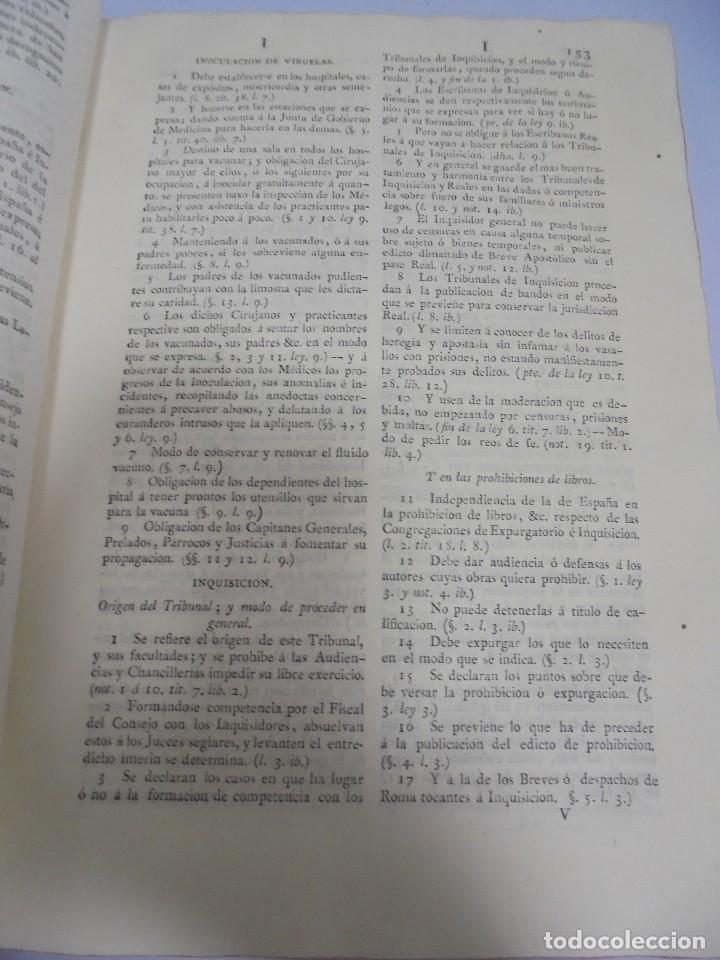 Libros antiguos: NOVISIMA RECOPILACION DE LAS LEYES DE ESPAÑA. TOMO VI. MADRID 1807. LEER - Foto 8 - 113053155