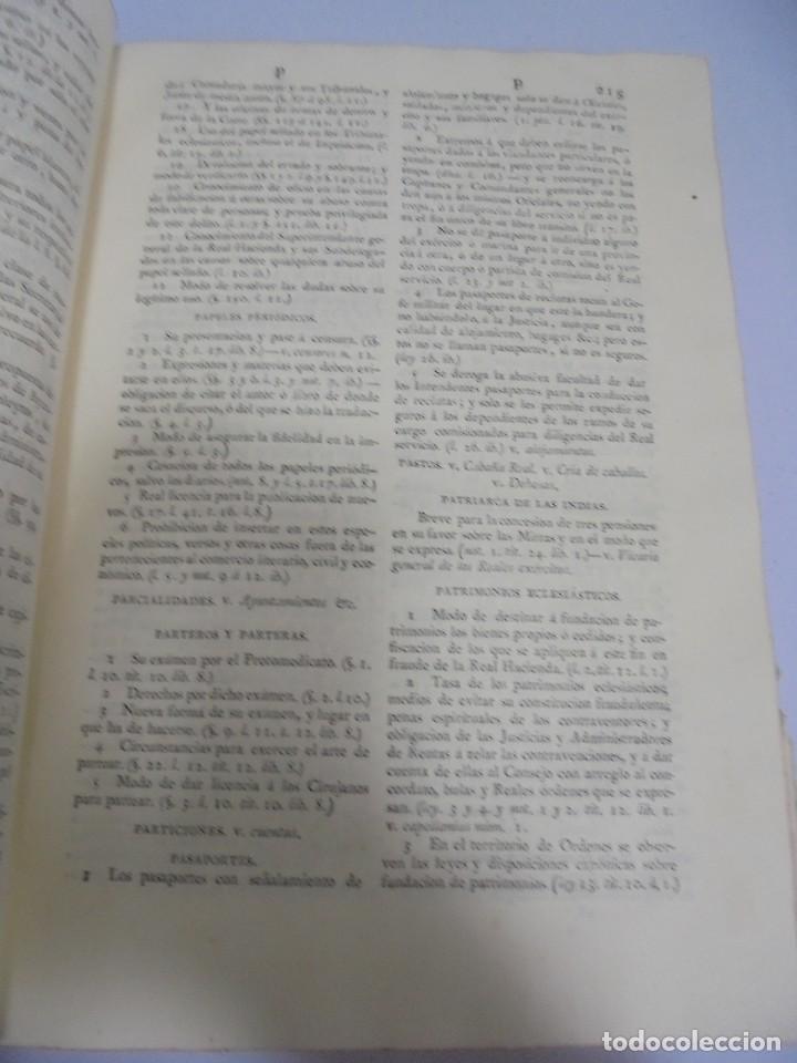Libros antiguos: NOVISIMA RECOPILACION DE LAS LEYES DE ESPAÑA. TOMO VI. MADRID 1807. LEER - Foto 9 - 113053155