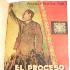 Libros antiguos: PERU - EL PROCESO HAYA DE LA TORRE 1933 - PUBLICACIONES DEL PARTIDO APRISTA PERUANO. Lote 113481259