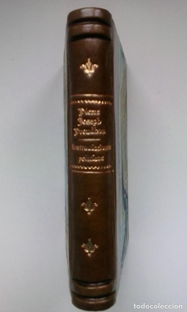 Libros antiguos: Contradicciones políticas: teoría del movimiento constitucional en el siglo XIX (1873) / Proudhon. - Foto 2 - 114455655