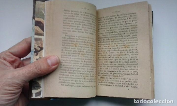 Libros antiguos: Contradicciones políticas: teoría del movimiento constitucional en el siglo XIX (1873) / Proudhon. - Foto 8 - 114455655