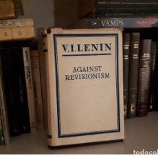 Libros antiguos: AGAINST REVISIONISM, V. I. LENIN. Lote 116216327