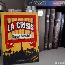 Libros antiguos: LA CRISIS, ERNEST MANDEL. Lote 116261927