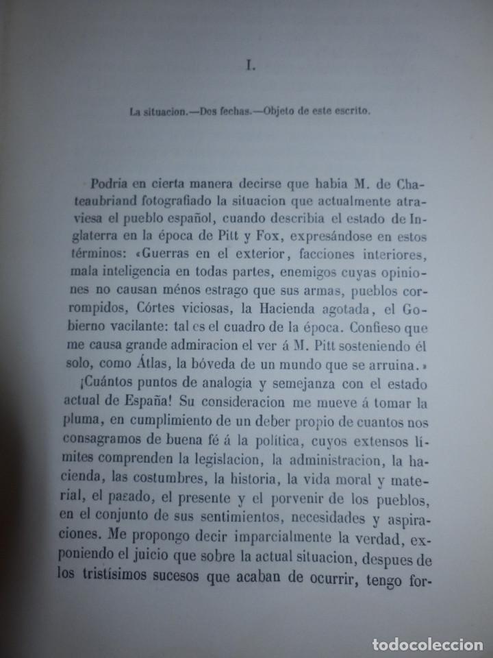 Libros antiguos: Llibro - La situación de España en 1867 - Manuel Pérez de Molina - Diputado a Cortes -Política, Raro - Foto 2 - 116396291