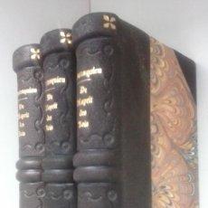 Libros antiguos: DE L'ESPRIT DES LOIS (1816) / MONTESQUIEU. TOMOS 2, 4 Y 5. PIERRE DIDOT. EL ESPÍRITU DE LA LEYES.. Lote 117897899