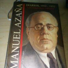 Libros antiguos: MANUEL AZAÑA DIARIOS ROBADOS 1932-1933. Lote 118514139
