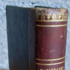 Libros antiguos: VARIEDADES LITERARIAS Y POLITICAS - POR EL VIZCONDE DE CHATEAUBRIAND - MADRID 1850 . Lote 122938795