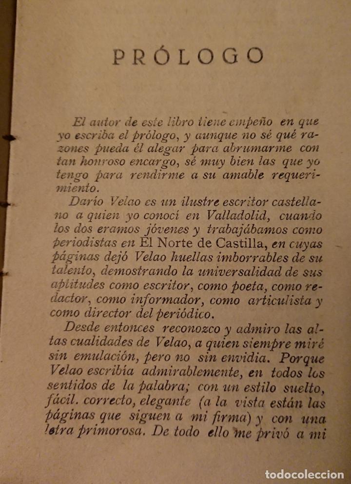 Libros antiguos: MEMORIAS DE UN PANCISTA 4 DE ENERO DE 1874, DARIO VELAO COLLADO - Foto 3 - 124234879