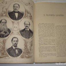 Libros antiguos: LOS DIPUTADOS PINTADOS POR SUS HECHOS. 1869. ILUSTRADOS POR SANTIAGO LLANTA. TOMO I.. Lote 124774923