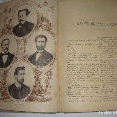 Libros antiguos: LOS DIPUTADOS PINTADOS POR SUS HECHOS. 1869. ILUSTRADOS POR SANTIAGO LLANTA. TOMO II.. Lote 124775507