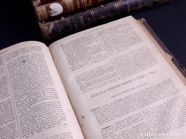 Libros antiguos: ORDENANZAS DE S.M. 1882, TRES TOMOS - Foto 3 - 125092791