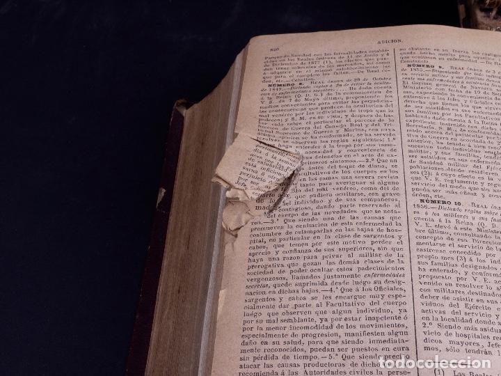 Libros antiguos: ORDENANZAS DE S.M. 1882, TRES TOMOS - Foto 4 - 125092791
