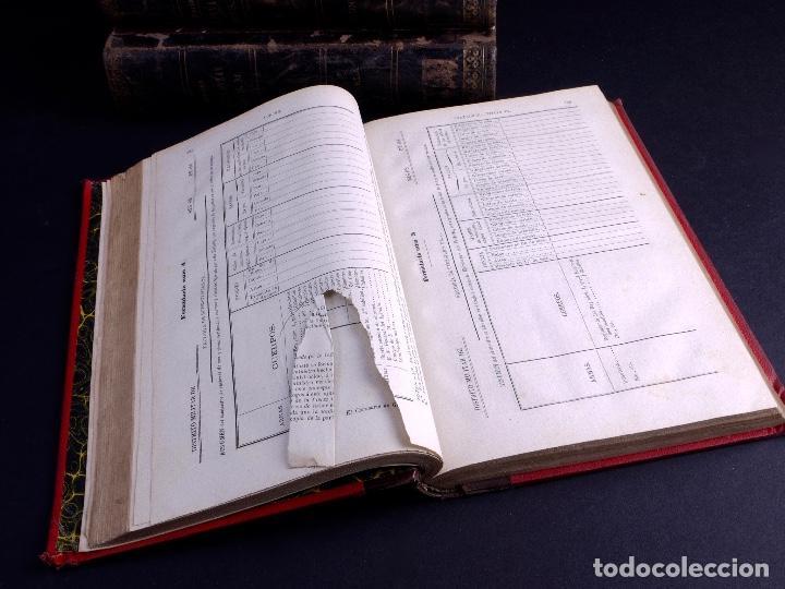 Libros antiguos: ORDENANZAS DE S.M. 1882, TRES TOMOS - Foto 6 - 125092791