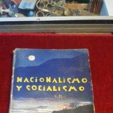 Libros antiguos: NACIONALISMO Y SOCIALISMO DELIRIOS PSICASTENICOS AÑO 1931 FRANCISCO PATIÑO MADRID. Lote 125129714