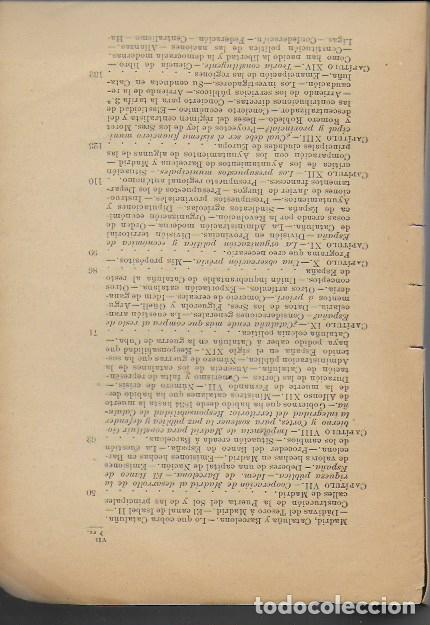 Libros antiguos: La cuestión catalana / Guillermo Graell. BCN, 1902. 21x14cm. 215 p. - Foto 3 - 127517211