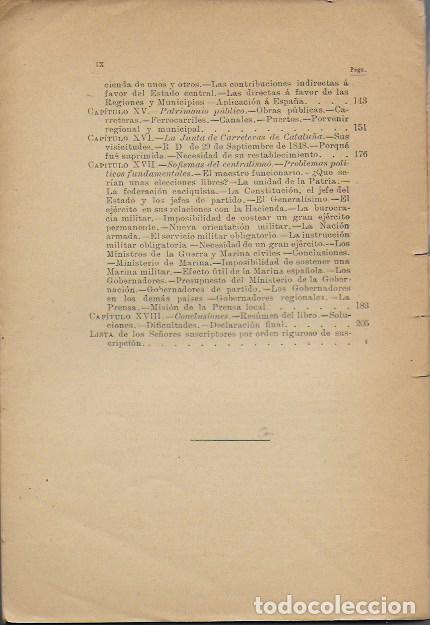 Libros antiguos: La cuestión catalana / Guillermo Graell. BCN, 1902. 21x14cm. 215 p. - Foto 4 - 127517211