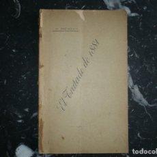 Libros antiguos: CUESTION CHILENA -ARGENTINA EL TRATADO DE 1881 JOSE BIANCO 1901 LA PLATA . Lote 127925507