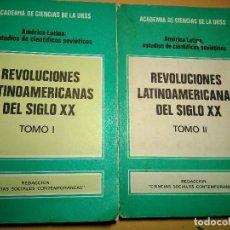 Libros antiguos: BIBLIOTECA SOBRE CUBA SOCIALISTA + LATINOAMÉRICA REVOLUCIONARIA DEL SIGLO XX. Lote 128285419