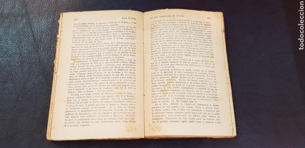 Libros antiguos: EL GRAN ORGANIZADOR DE DERROTAS 1930 LEON TROSKY 1ª EDICION - Foto 4 - 128996734