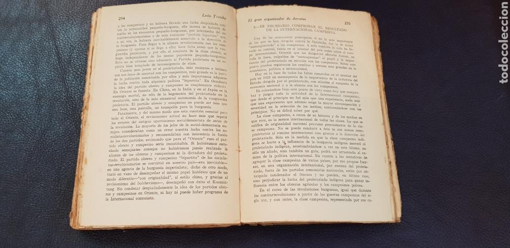 Libros antiguos: EL GRAN ORGANIZADOR DE DERROTAS 1930 LEON TROSKY 1ª EDICION - Foto 5 - 128996734