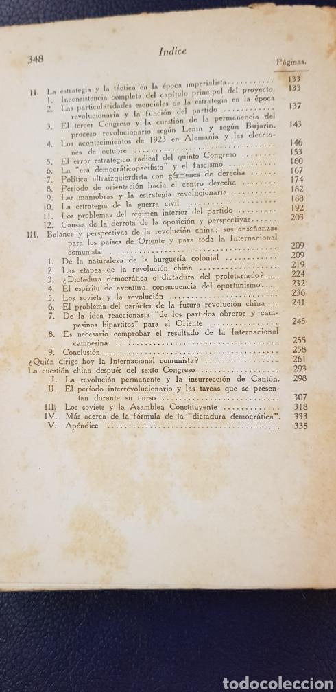 Libros antiguos: EL GRAN ORGANIZADOR DE DERROTAS 1930 LEON TROSKY 1ª EDICION - Foto 7 - 128996734