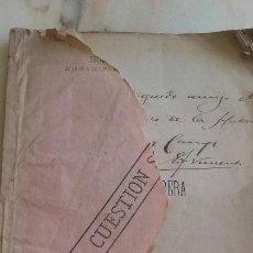 Libros antiguos: LA CUESTION OBRERA.EDUARDO VICENTI Y REGUERA.FIRMA AUTOGRAFA DEL AUTOR.1884. Lote 129270243