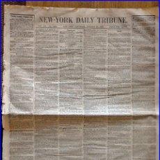 Libros antiguos: AÑO 1853: ARTÍCULO DE CARLOS MARX EN EL NEW-YORK DAILY TRIBUNE: REVOLUCIÓN Y CONTRARREVOLUCIÓN.. Lote 131682334
