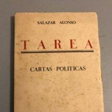 Libros antiguos: TAREA CARTAS POLÍTICAS 1934. Lote 131959318