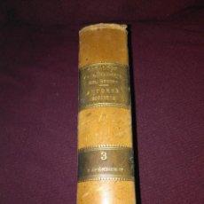 Libros antiguos: CATÁLOGO DE LA BIBLIOTECA DEL SENADO. TOMO III. 1890.. Lote 133104510