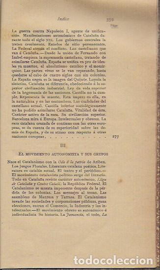 Libros antiguos: Cosas de España / Pompeyo Gener. BCN, 1903. 20x13 cm. 360 p. Piel con nervios. - Foto 8 - 135951870