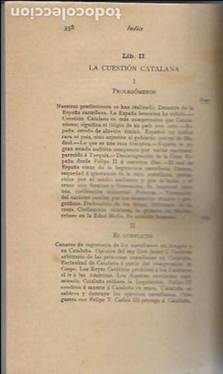 Libros antiguos: Cosas de España / Pompeyo Gener. BCN, 1903. 20x13 cm. 360 p. Piel con nervios. - Foto 7 - 135951870